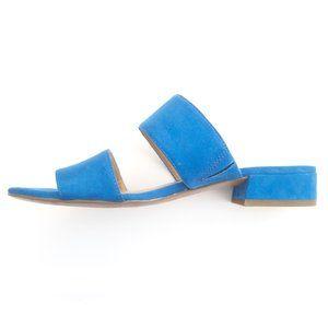 Franco Sarto Suede Blue Sandals - sz 6